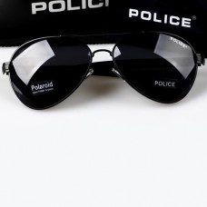 Hot Fashion Police Polarized Sunglasses S9111 Black