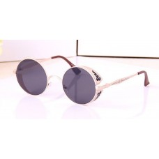 Long Keeper Fashion Brand Vintage Sunglasses Round Glasses Goggles Retro STY2877Q