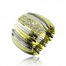 Oem Elastic Ring In shades of Gold and Silver