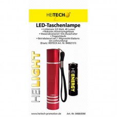 Heitech Led Torch Includes 1xmignon/Aa Battery
