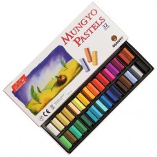 Mungyo Soft Pastels 24 color Square Type Pastel Art Drawing