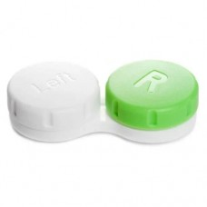 Generic Dua Contact Lens Case - White & Green