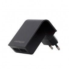 Energenie 2-Port Universal Charger 2.1a Black