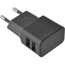 Lamtech Travel Wall Charger 2.4a With 2xusb Black
