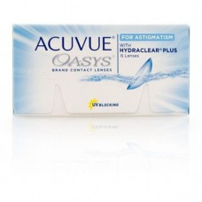 Acuvue Contact Lenses Oasys 2-Week For Astigmatism 6 Lenses Clear