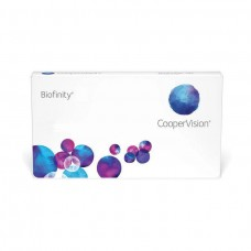 Biofinity Contact Lenses - Monthly 6 Lenses Clear