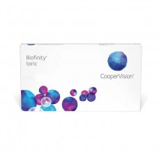 Biofinity Contact Lenses Toric - Monthly 6 Lenses Clear