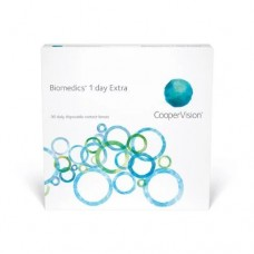 Biomedics Contact Lenses 1 Day Extra - Daily 90 Lenses Clear