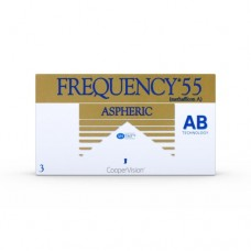 Frequency 55 Contact Lenses Aspheric - Monthly 6 Lenses Clear