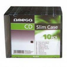 Esperanza Slim Case Black 10pcs OM40172
