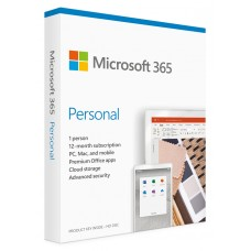Microsoft Office 365 Personal QQ2-00989, English, Medialess P6, 1 Year