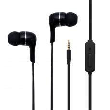 Toshiba Audio Wired Ear Buds Black