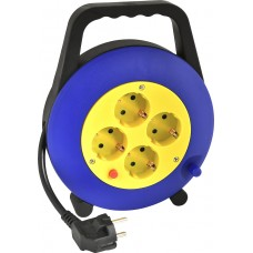 Heitech Cable Reel 4-Way 5m