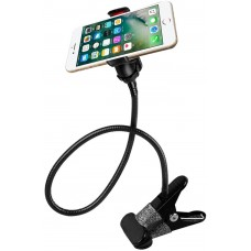 Universal Lazy Android Mobile Phone Clip Holder GPS Desk Bed Stand Bracket 360 Rotating Mount