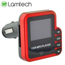 Lamtech Digital Fm Trasmitter With Remote Control Red