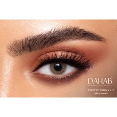 Dahab Contact Lenses - Daily Collection Lumirere Brown