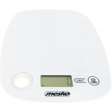 Mesko Kitchen Scale With Hole To Hang White