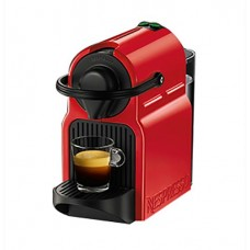 Krups Espresso Coffee Maker Nespresso Inissia XN1005S With Capsule Red