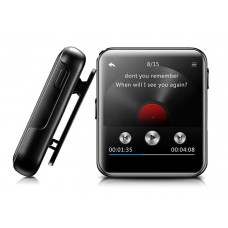 """BENJIE MP3 Video Player BJ-A39, Bluetooth, 1.8 """", With Speaker, Black"""