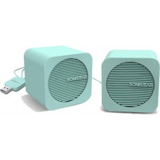 Sonic Gear Bluetooth 5,2 Speakers 2,0 Blue Cube Mint