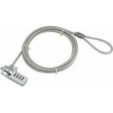 Gembird Cable Lock For Notebooks (4-Digit Combination)