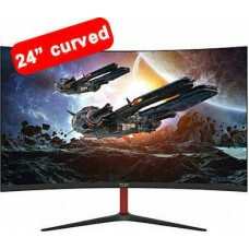 Armaggeddon Pixxel+ Proffesional Gaming Curved Monitor Pc24hd Pro Super Black