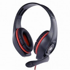 Gembird Gaming Headset With Volume Control 3.5mm Ps4 Red-Black
